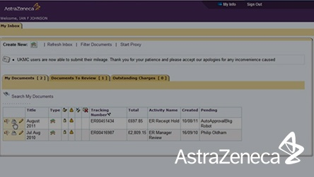 AstraZeneca Screen Capture Video Thumbnail