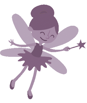 The fairy (you!) is introduced in part 3 of the template.