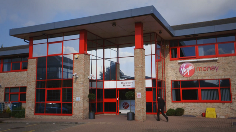 Our B2B case study video for Experian featured Virgin Media offices and employees.