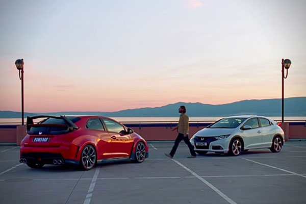 Honda's 'The Other Side' interactive video advert