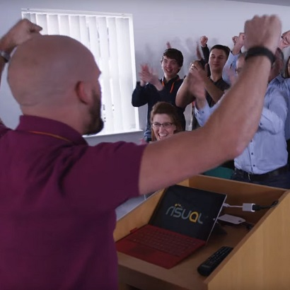 This corporate video from Risual is surely one of the best B2B videos ever.