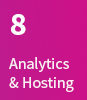 8. Analytics & Hosting