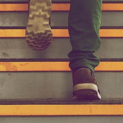Step-by-step up the stairs: how you should approach corporate video production.