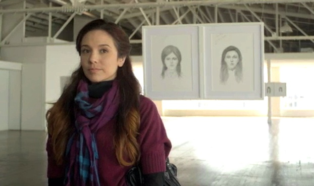 A woman in Dove's 'Real Beauty Sketches' video