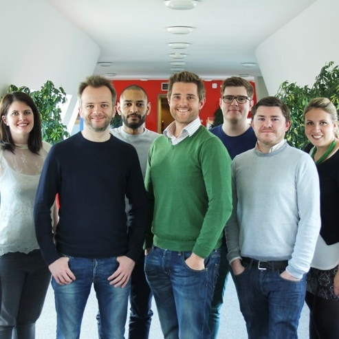 This is the Skeleton team! (Missing a few crucial members who couldn't be fit in this shot.)