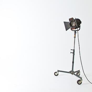 A camera all set up and ready to help during the corporate video production process.