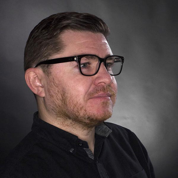 David Marsh Head of Production - check out those glasses