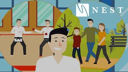 NEST Brand Animation Thumbnail
