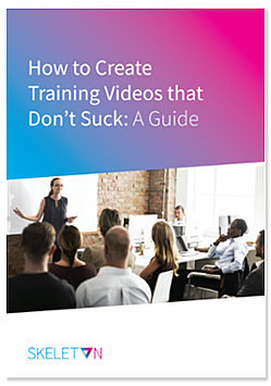 How to Create Training Videos that Don't Suck