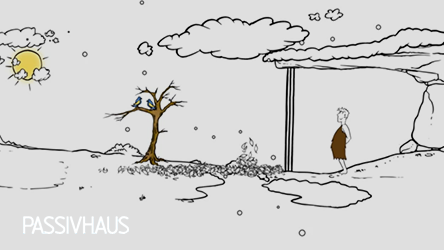 Passivhaus Principles Animated Cartoon