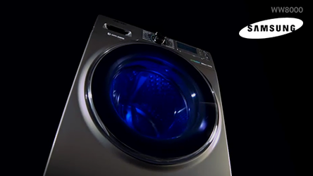 Samsung WW8000 Washing Machine Promotional Video