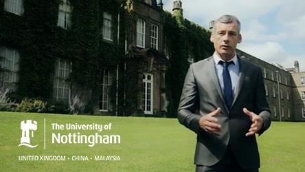 University of Nottingham Welcome Video Thumbnail
