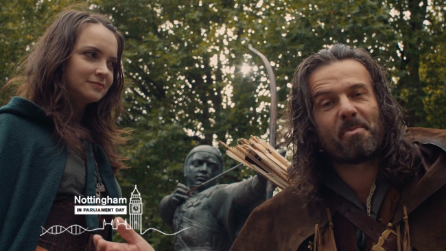 We Are Nottingham - Robin Hood & Maid Marian Thumbnail Image