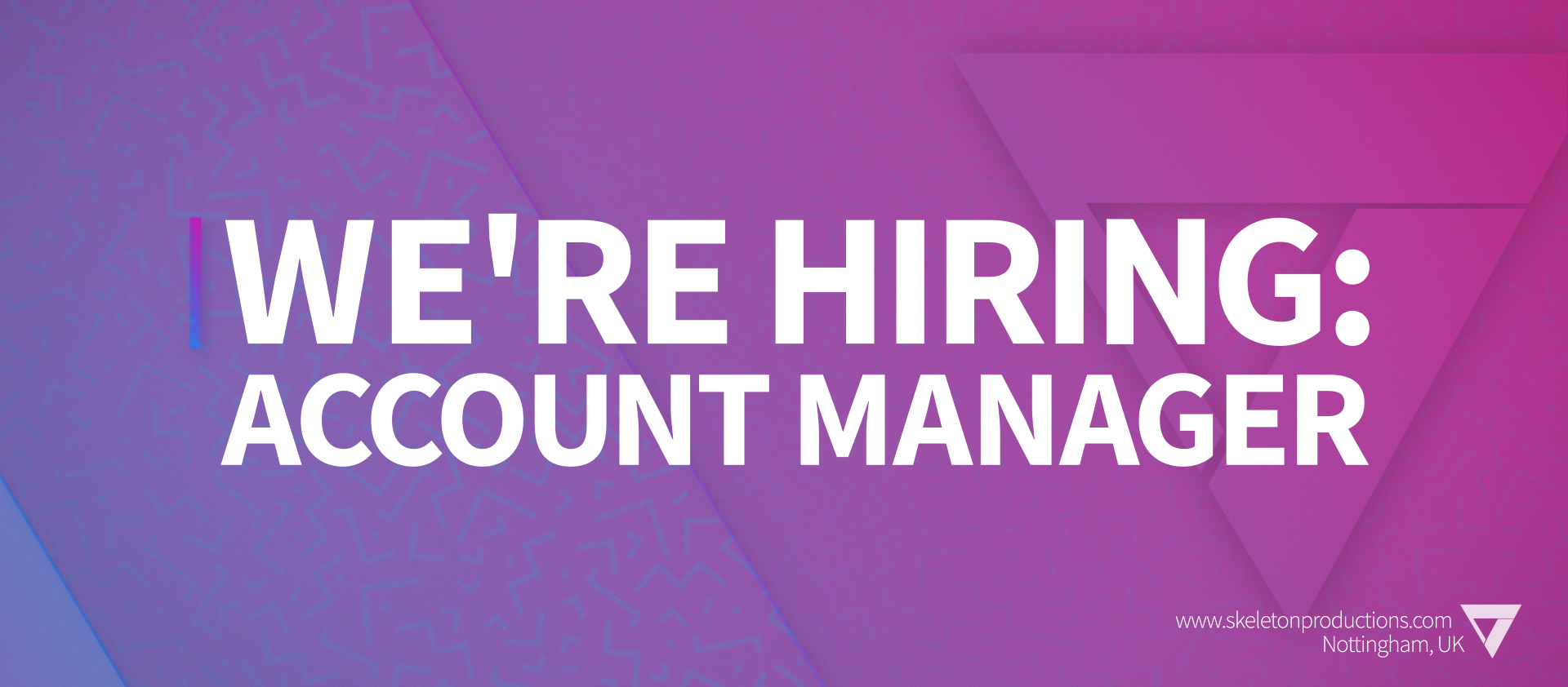 We're Hiring: Account Manager [POSITION FILLED] featured image