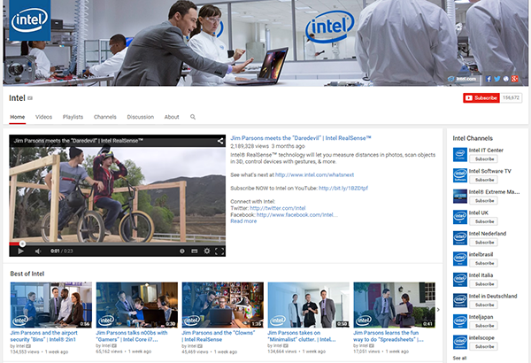 How and Why Intel Nurtures its Segmented Audience on YouTube featured image