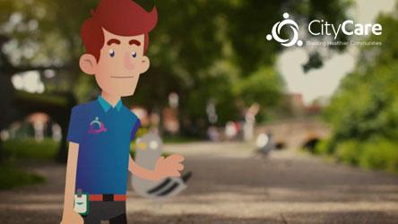 CityCare - Backpain Animation Video Thumbnail