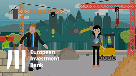 European Investment Bank | European Investment Advisory Hub Animation Thumbnail
