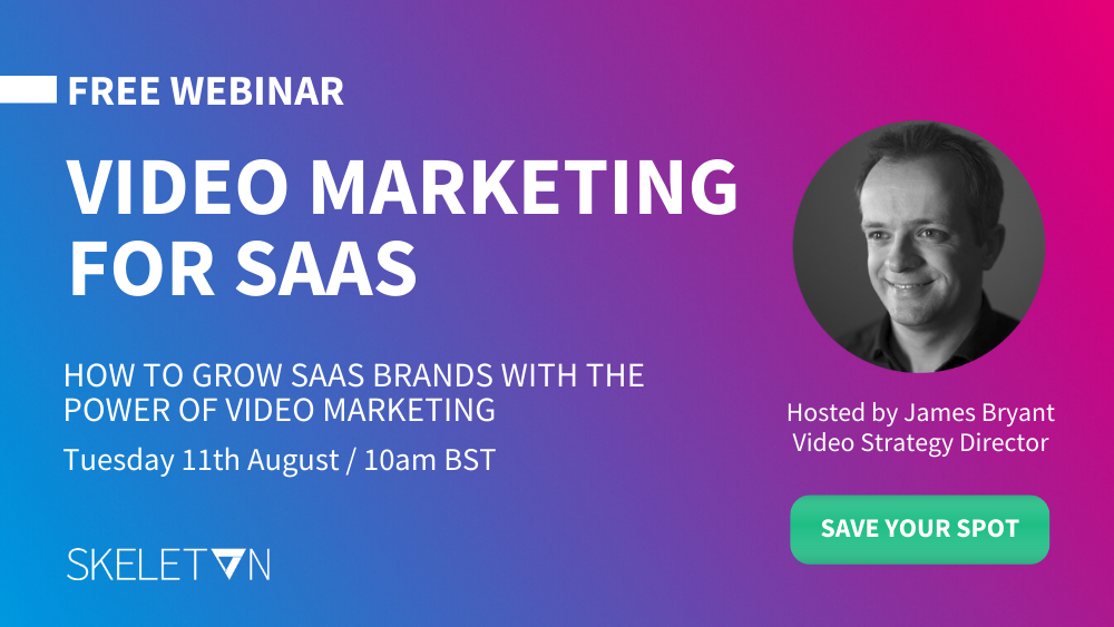How to Grow SaaS Brands with the Power of Video Marketing [Webinar] featured image