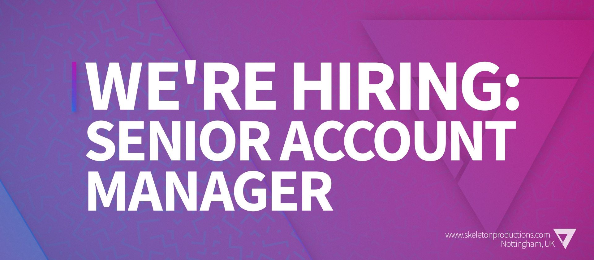 We're Hiring: Senior Account Manager featured image