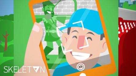 Skeleton Nottingifs Animation Thumbnail
