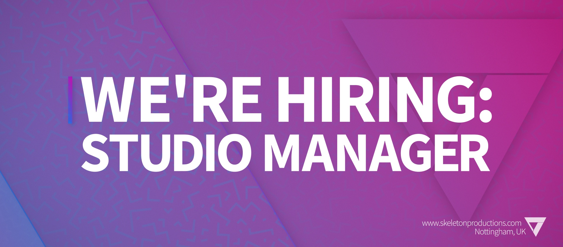 We're Hiring: Studio Manager featured image