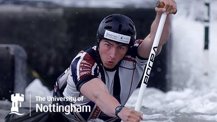University of Nottingham Sports Ad Campaign